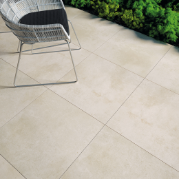 Dalles céramique Patio beige